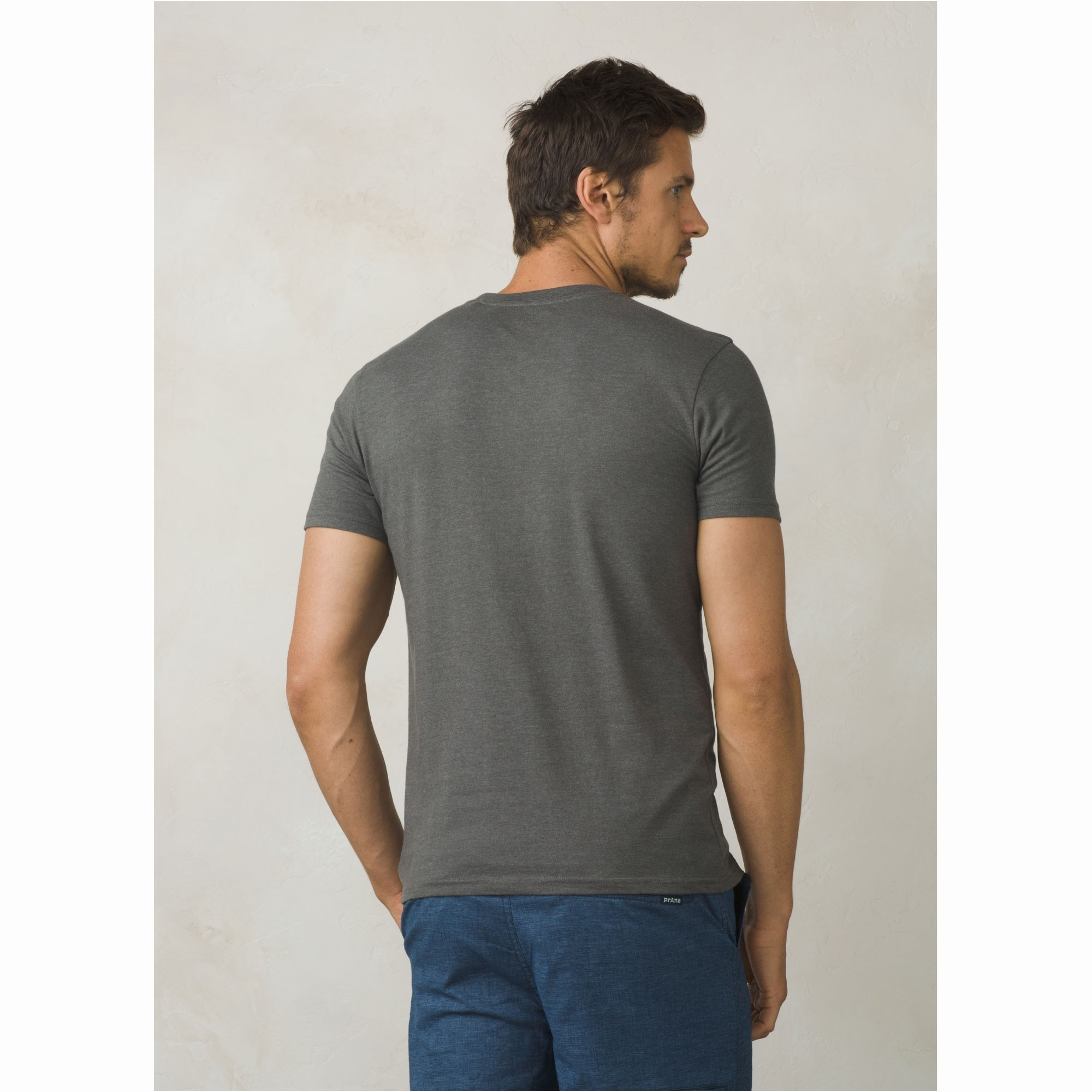 Prana Ezer T-Shirt - Charcoal Heather