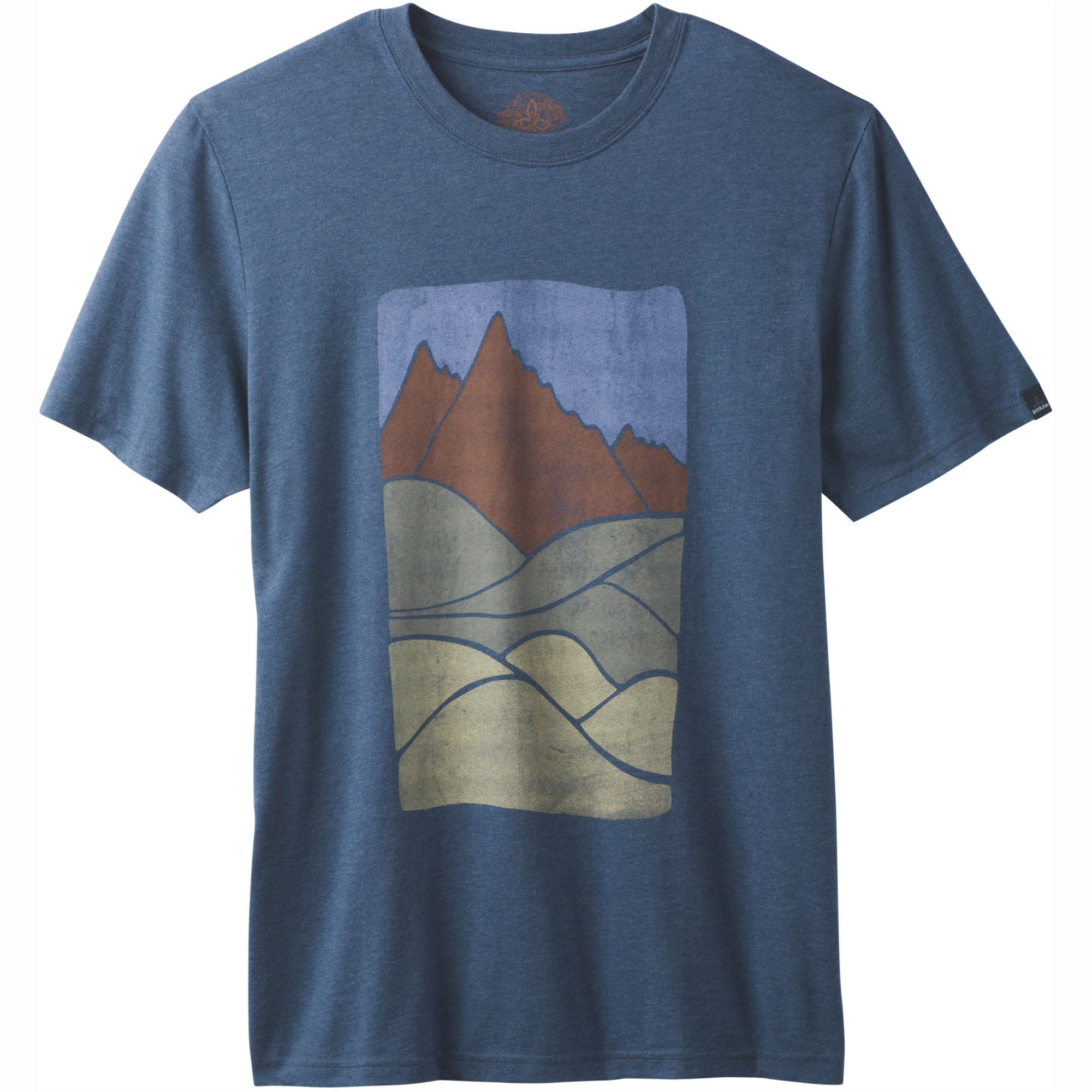 Prana Ezer T-Shirt - Denim Heather