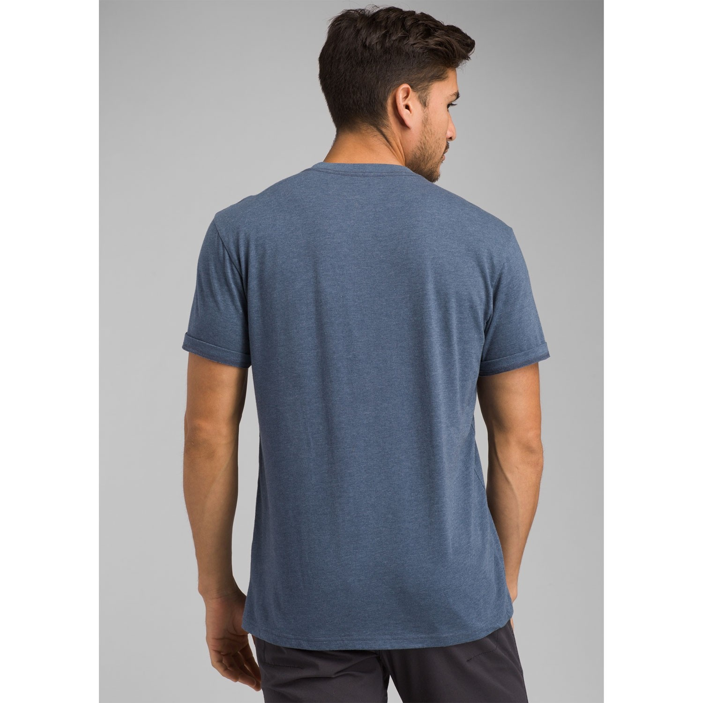 Prana Icon T-shirt - Men's - Denim Heather