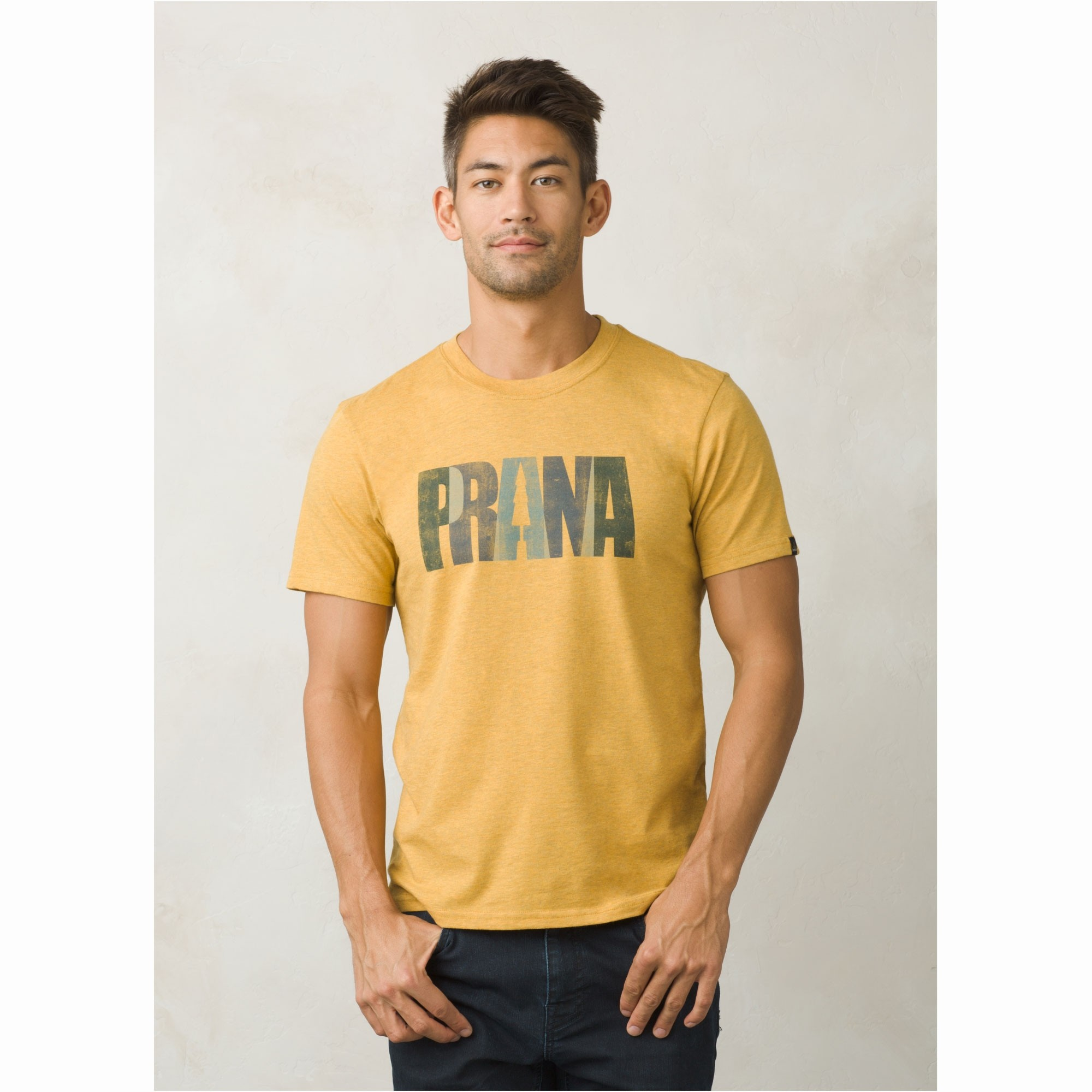 Prana Lock T-Shirt - Marigold Heather