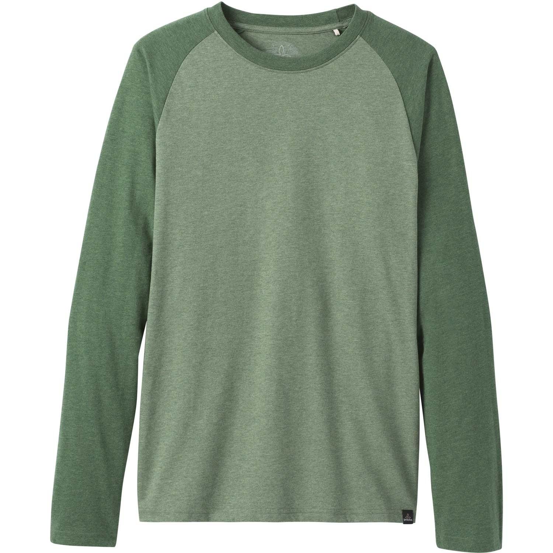 Prana Baseball Raglan T-Shirt - Canopy Heather