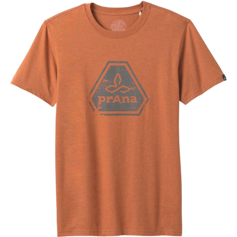 Prana Icon T-shirt - Men's - Russet Heather