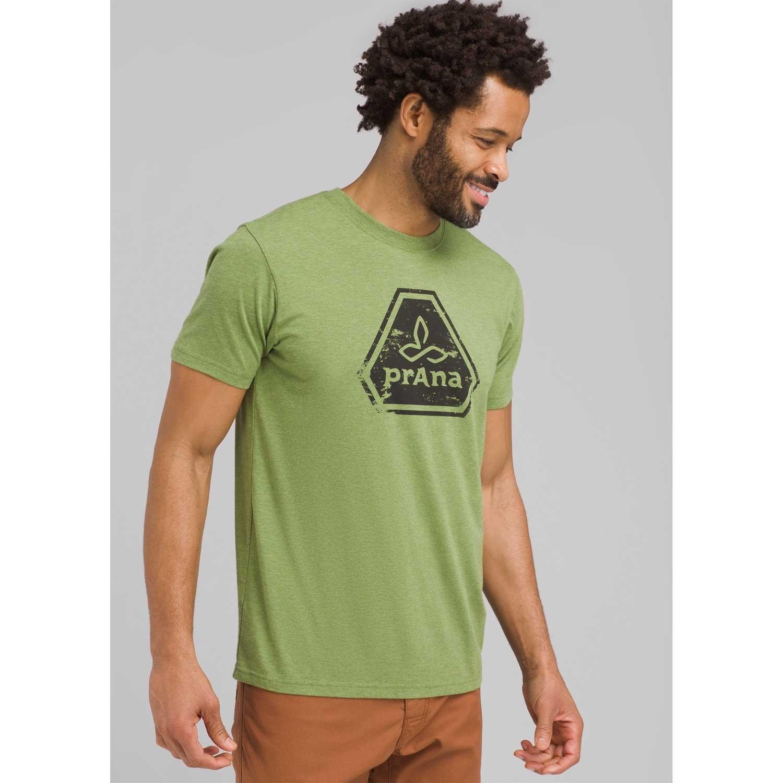 Prana Icon T-Shirt - Men's - Matcha Heather