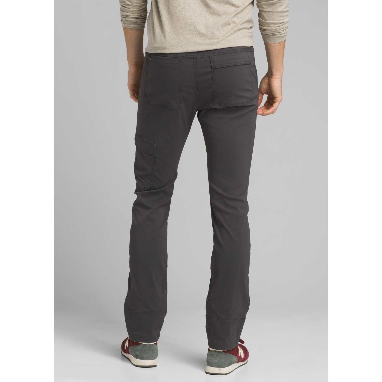 Prana Stretch Zion Straight Pants - Charcoal