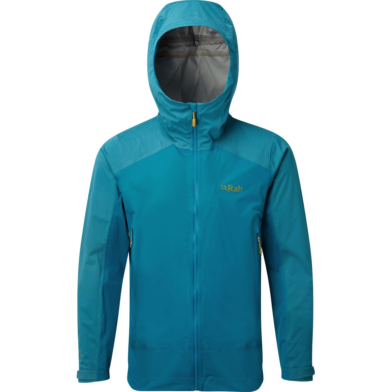Rab Kinetic Alpine Waterproof/Softshell Jacket - Azure