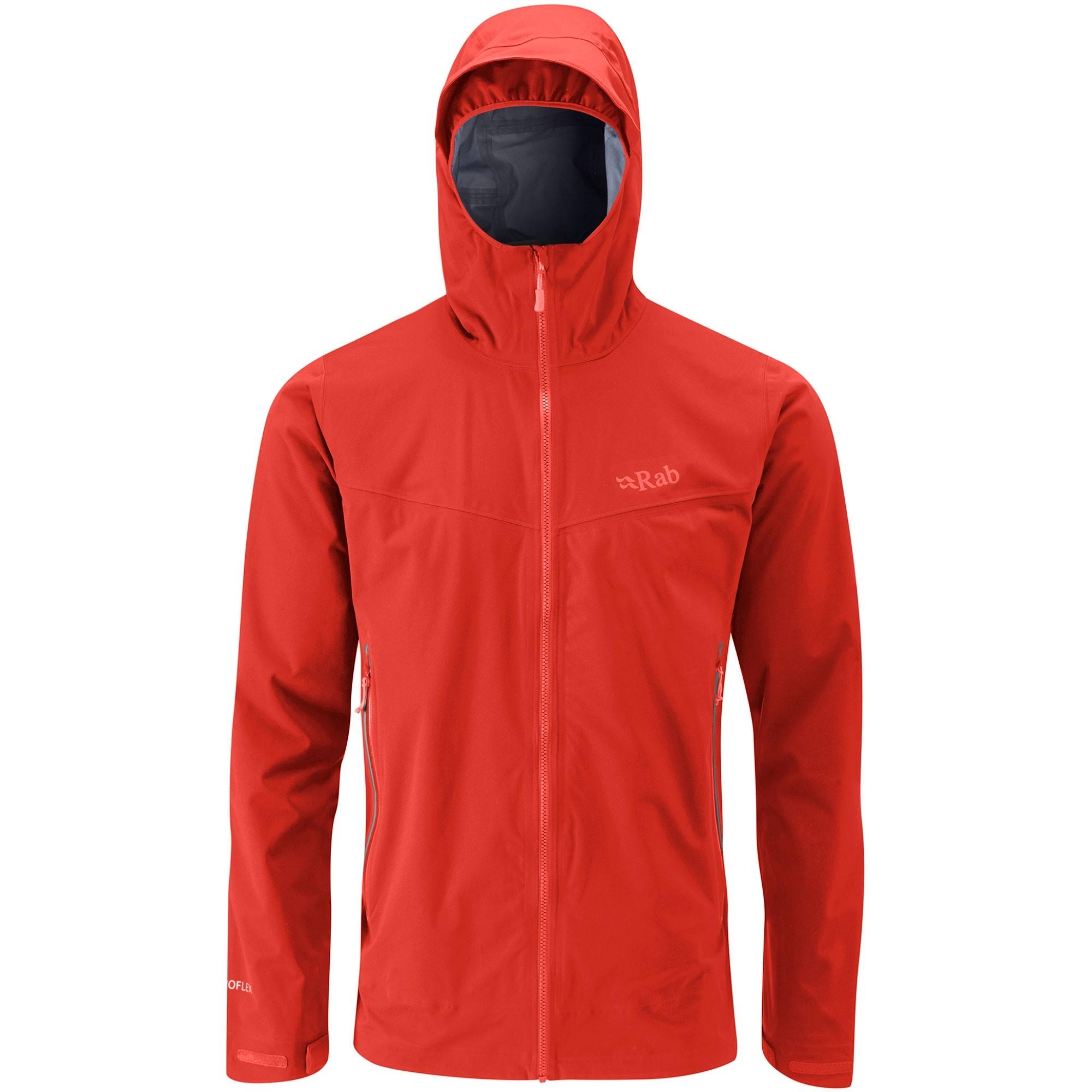Rab Kinetic Plus Men's Waterproof Jacket - Dark Horizon