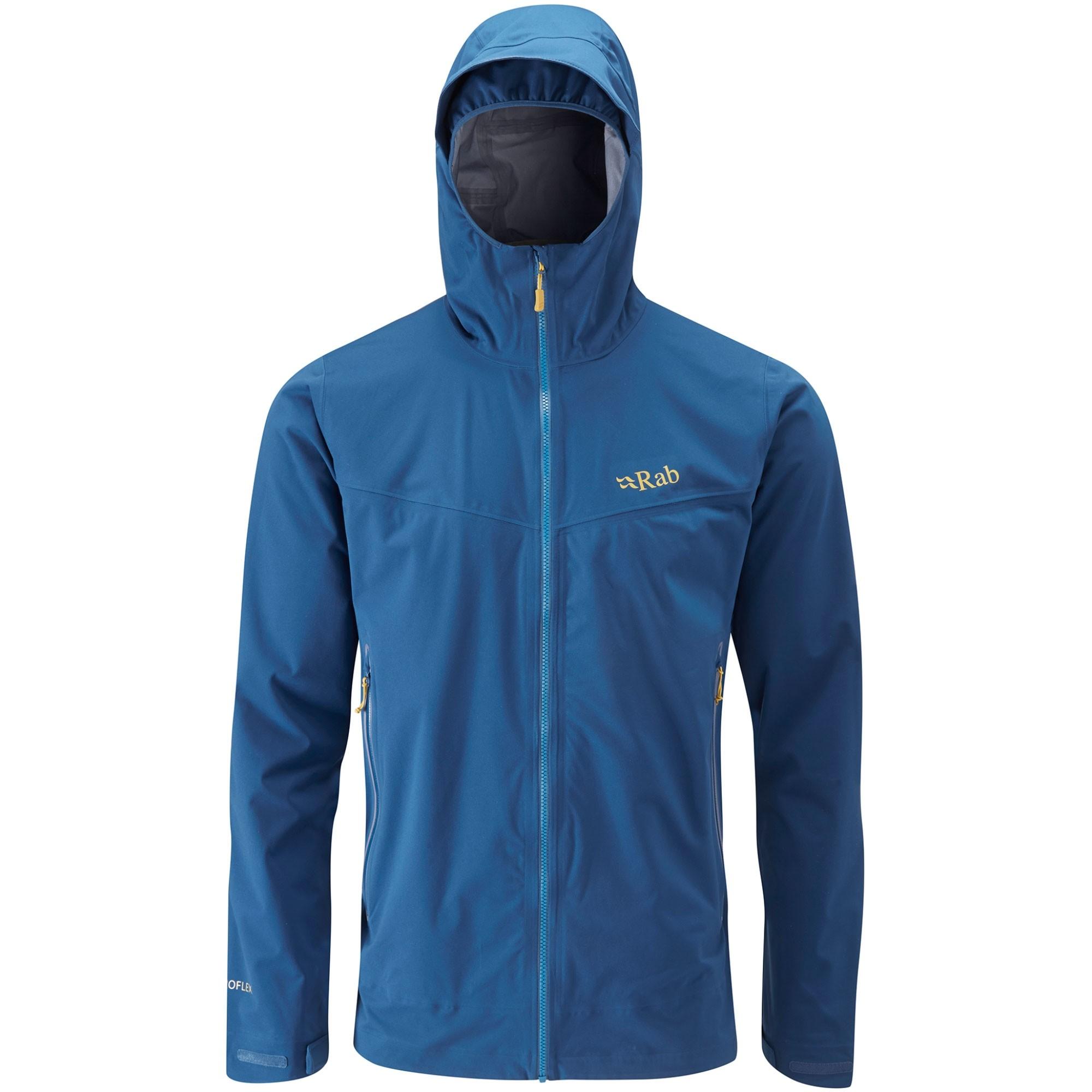 Rab Kinetic Plus Men's Waterproof Jacket - Ink