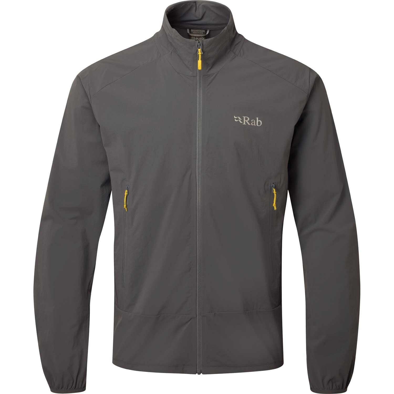 Rab Borealis Tour Men's Softshell Jacket - Steel