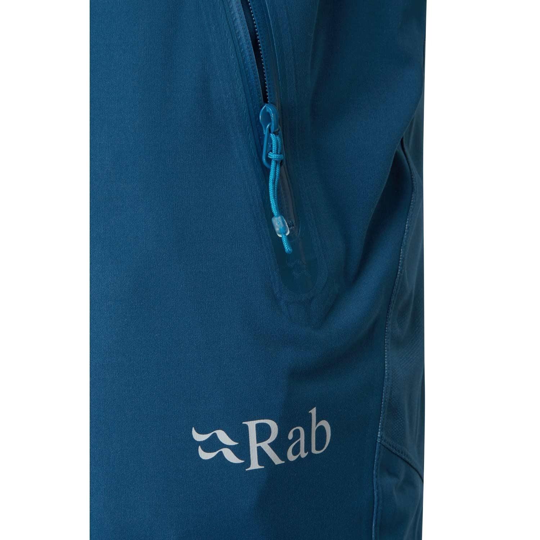Rab Kinetic Alpine Waterproof/Softshell Pant - Ink