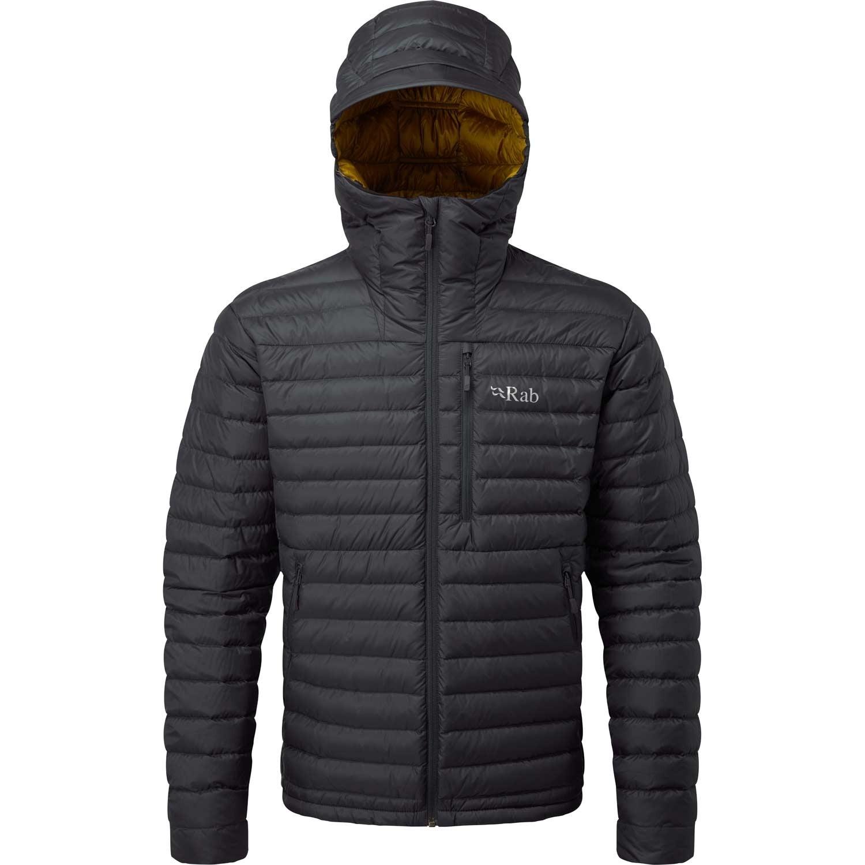 Microlight Alpine Down Jacket - Beluga/Dijon