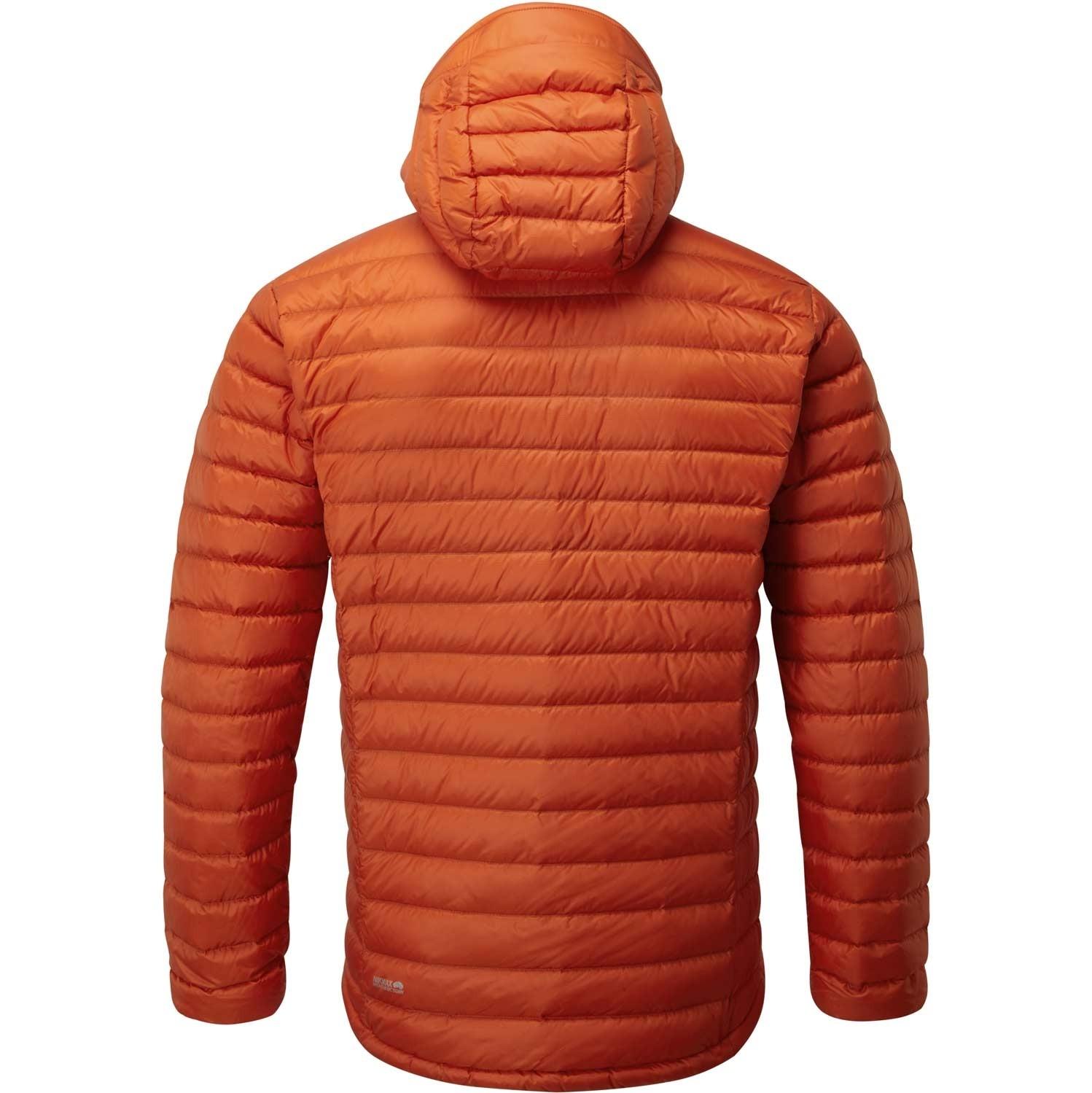 Microlight Alpine Down Jacket - Firecracker/Red Clay