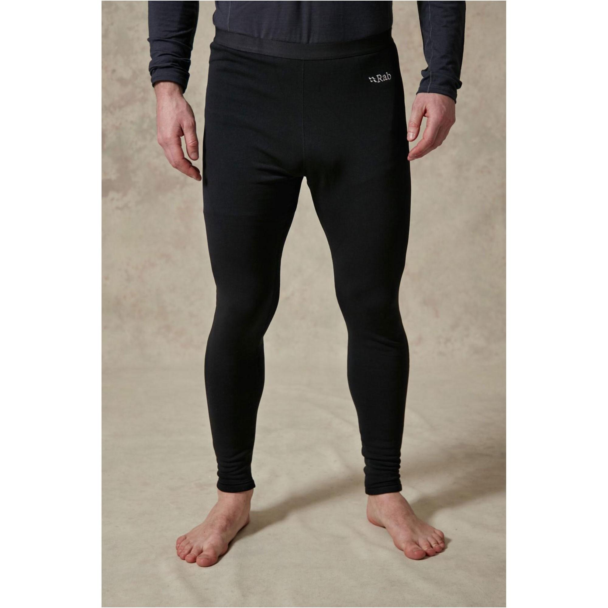 Rab Men's Power Stretch Pro Baselayer Pants - Black