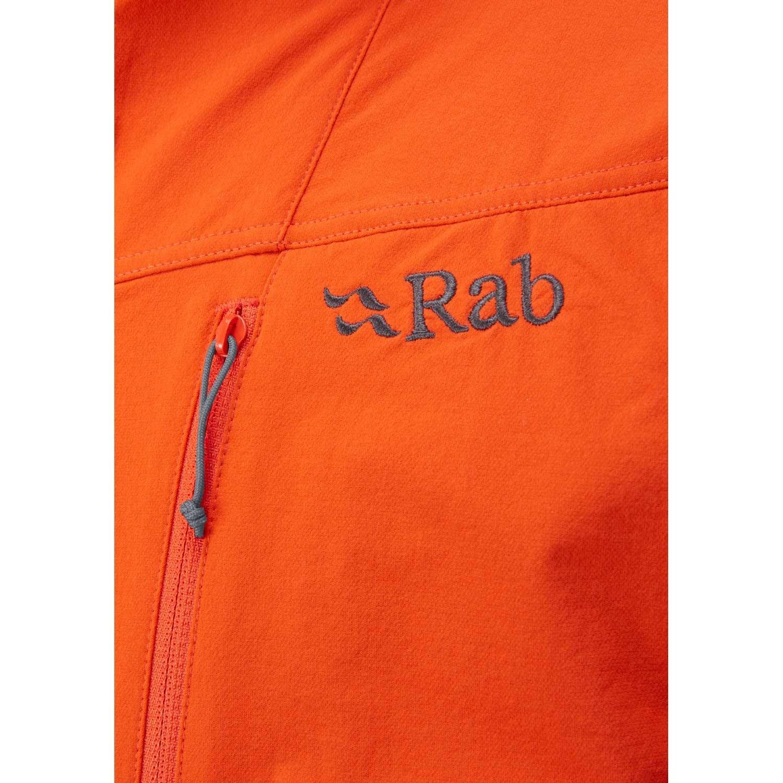 Rab Torque Jacket - Men's Softshell - Firecracker