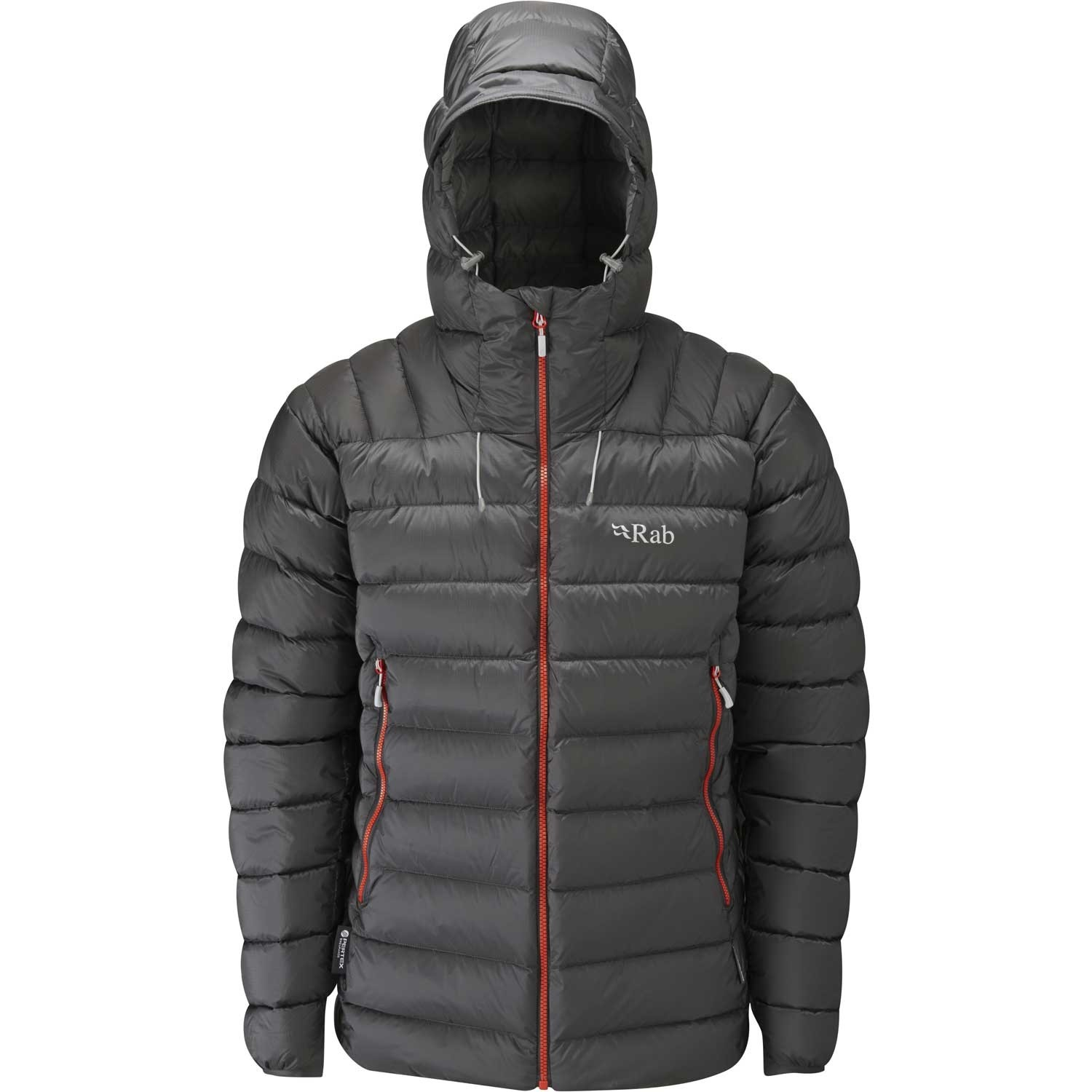 Rab Electron Down Jacket - Graphene/Zinc