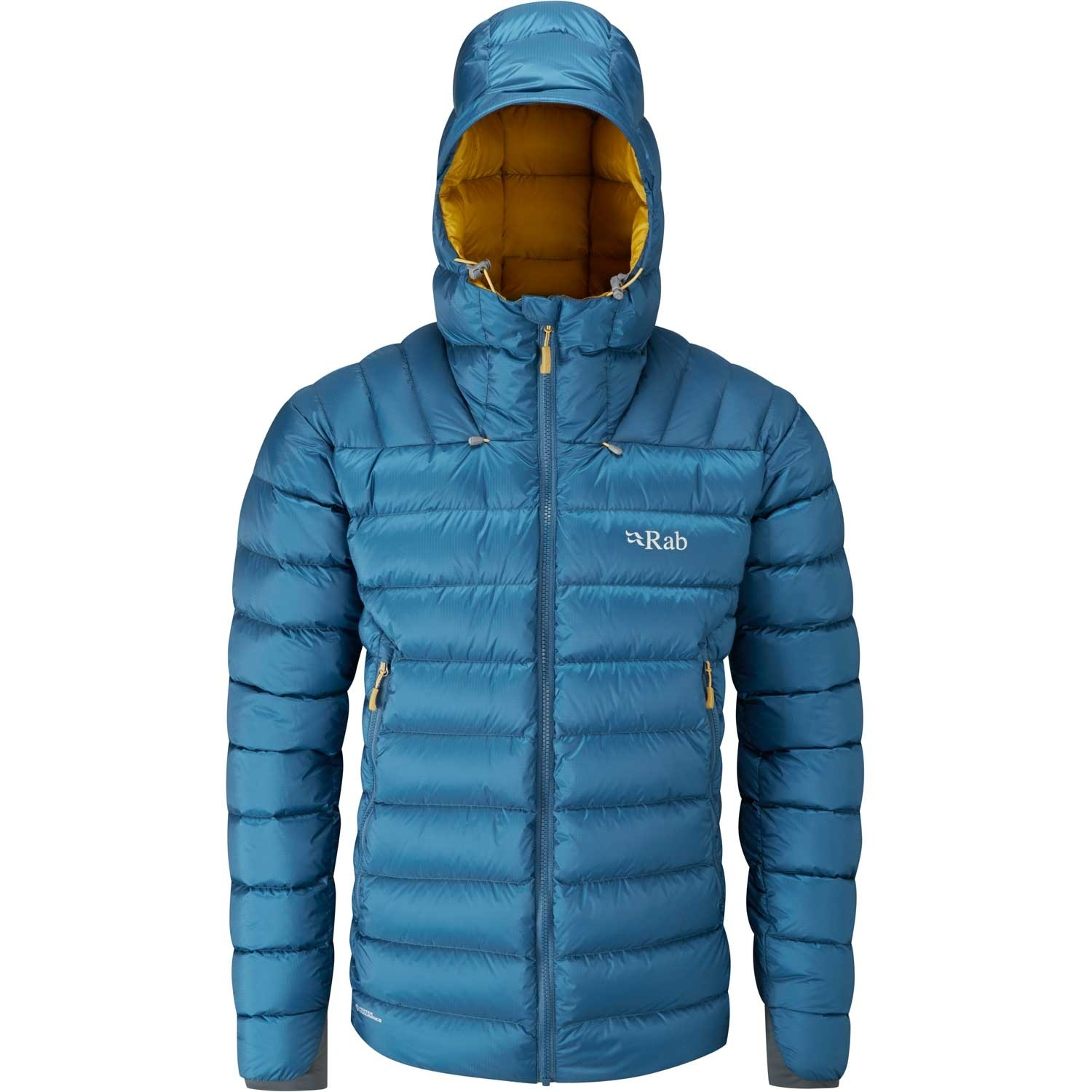 Rab Electron Down Jacket - Men's Ink/Mimosa