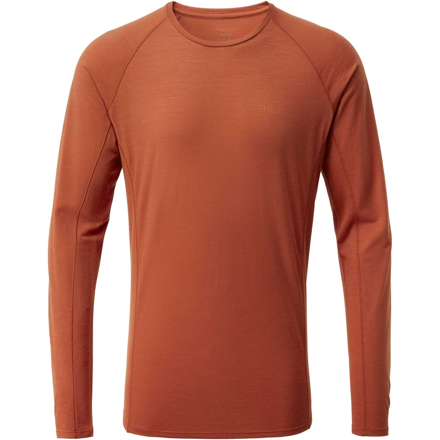 Rab Forge Long Sleeve Tee - Men's - Red Clay