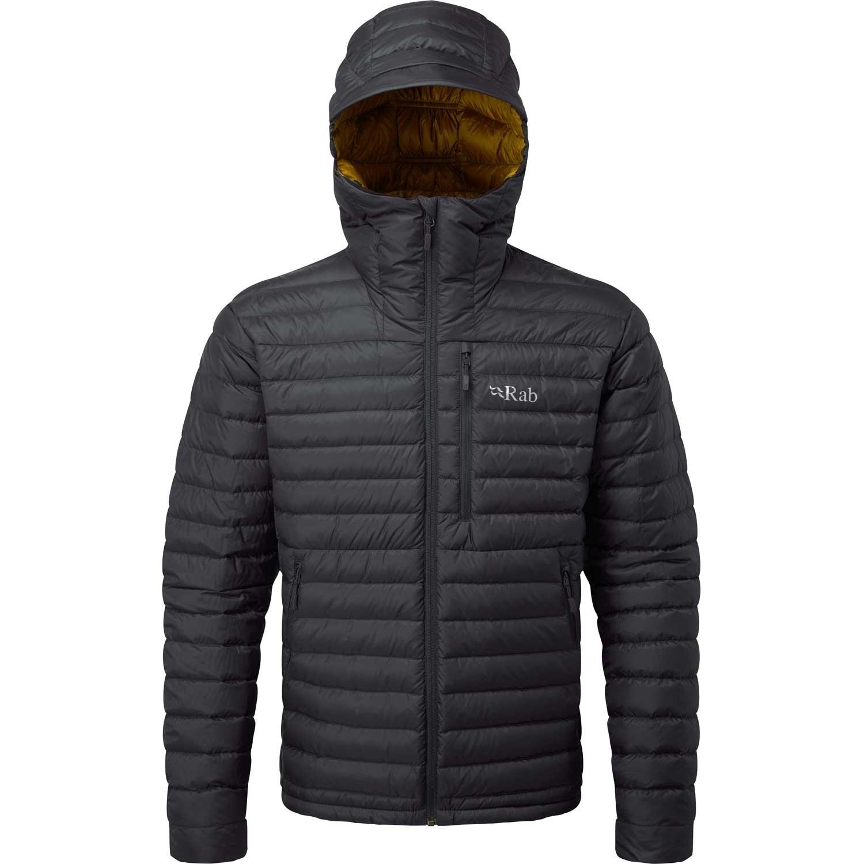 Rab Microlight Alpine Down Jacket - Men's - Beluga/Dijon