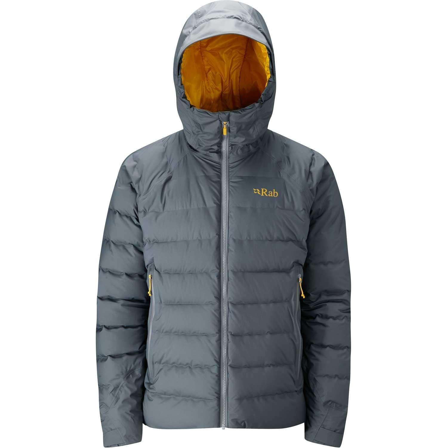 Rab Valiance Jacket - Men's - Steel/Dijon