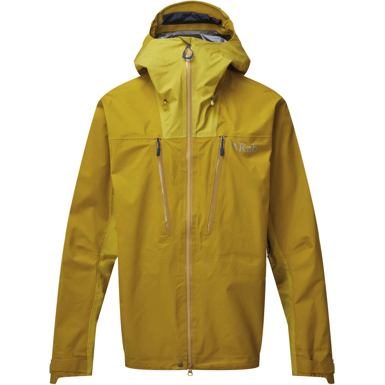 Rab Muztag GTX Waterproof Jacket - Men's - Dark Sulphur/Sulphur
