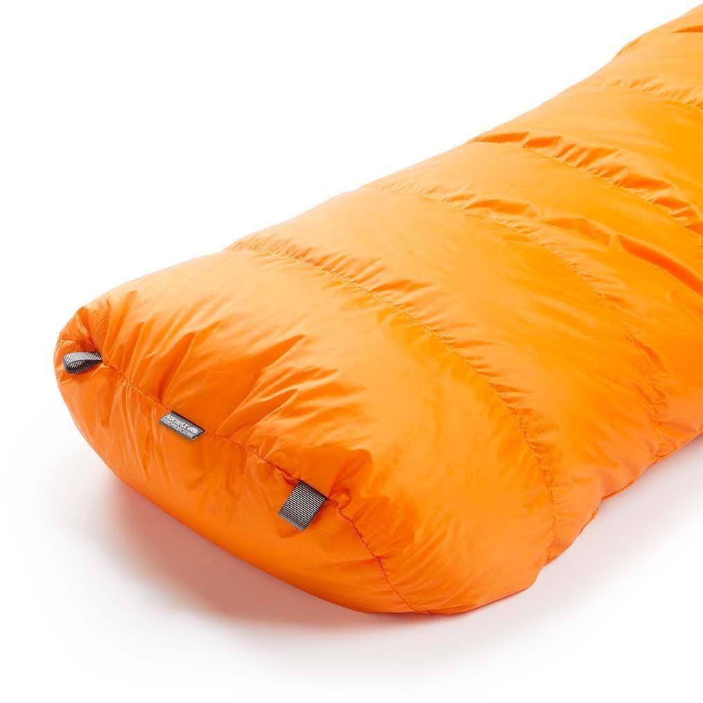 Rab Neutrino 200 Down Sleeping Bag - Persimmon - foot box