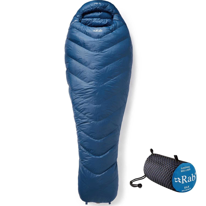 rab silk sleeping bagg liner deal