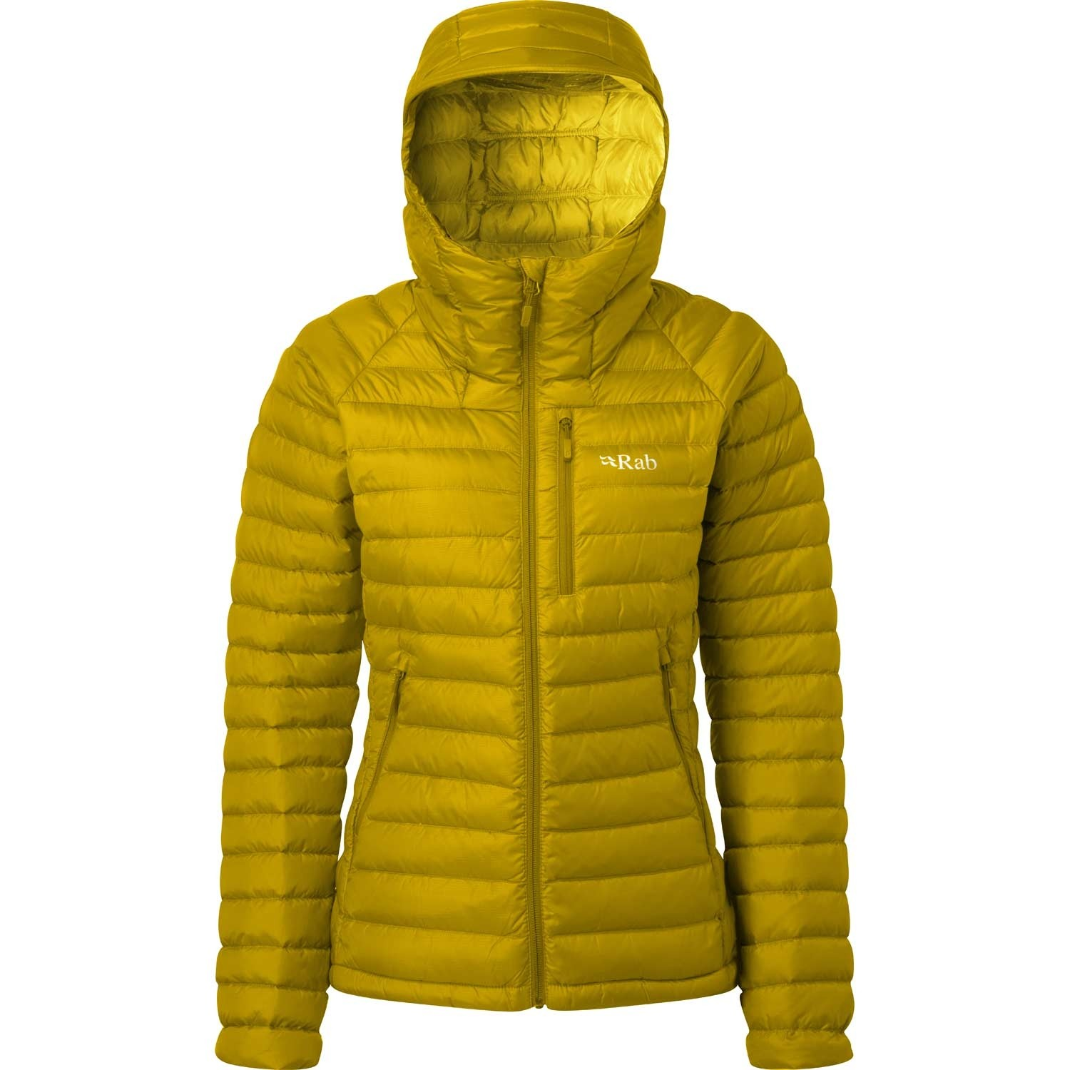Rab Microlight Alpine Women's Down Jacket - Dark Sulphur