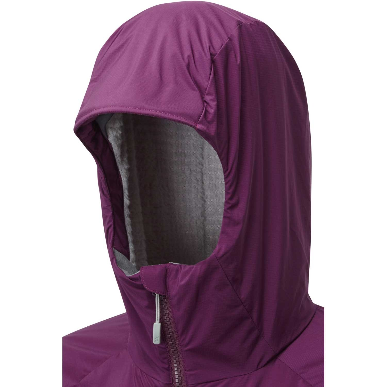 Rab Women's Alpha Direct Jacket - Berry/Zinc