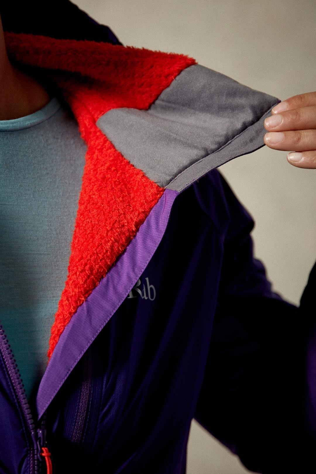 Rab Women's Alpha Direct Jacket - Nightshade/Juniper