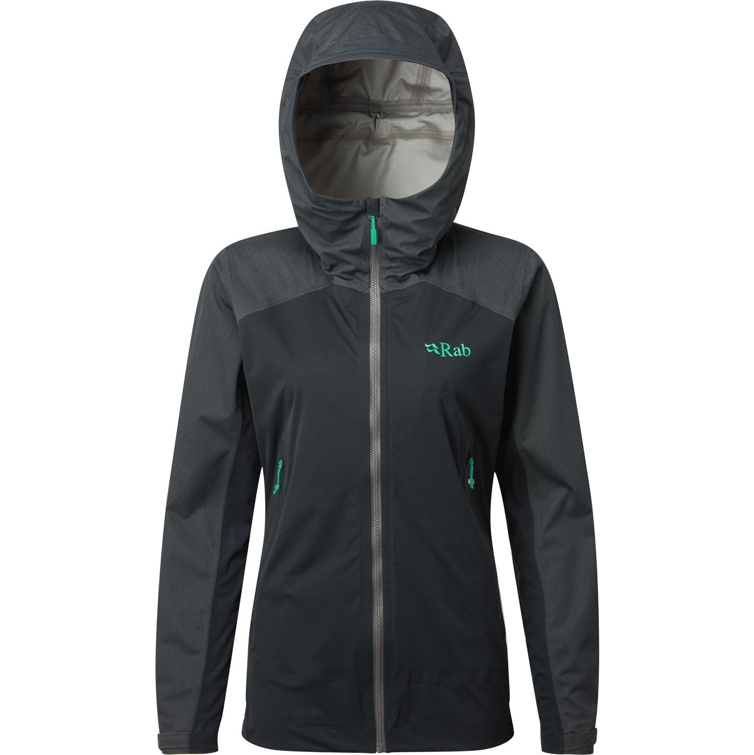 Rab Kinetic Alpine Waterproof/Softshell Jacket - Beluga
