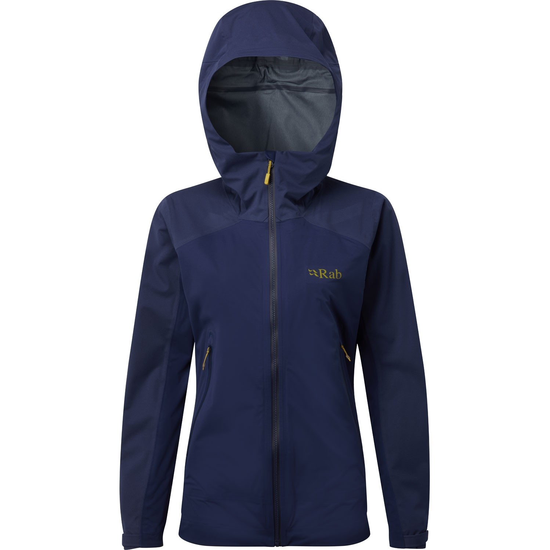 Rab Kinetic Alpine Waterproof/Softshell Jacket - Blueprint