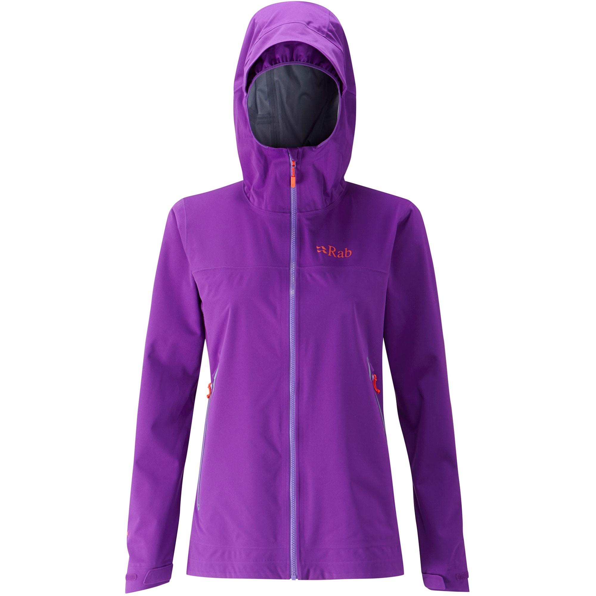 Rab Kinetic Plus Women's Waterproof Jacket - Nightshade