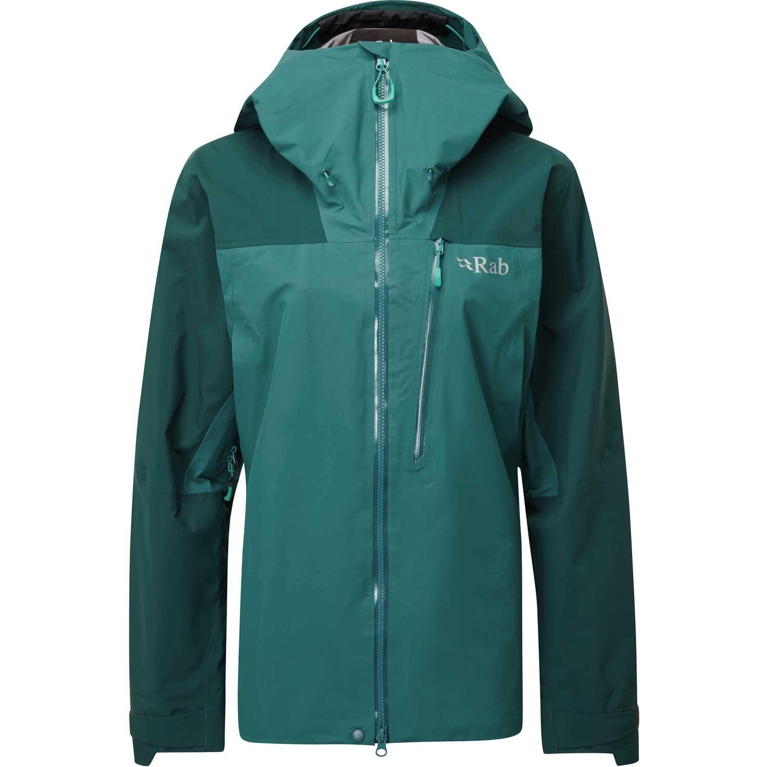 Ladakh GTX Waterproof Jacket - Women's - Sagano Green/Atlantis