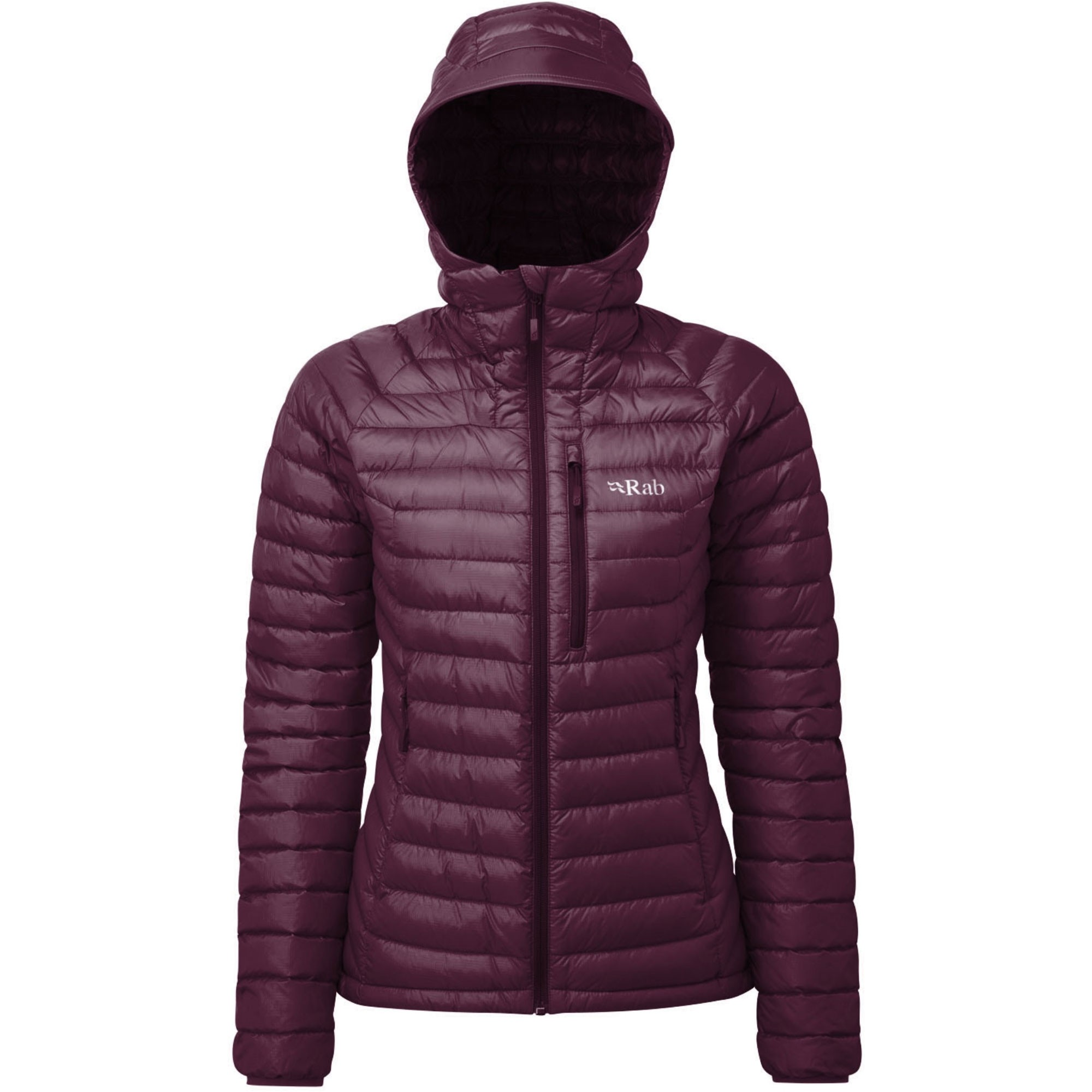 Rab Microlight Alpine Women's Down Jacket - Eggplant