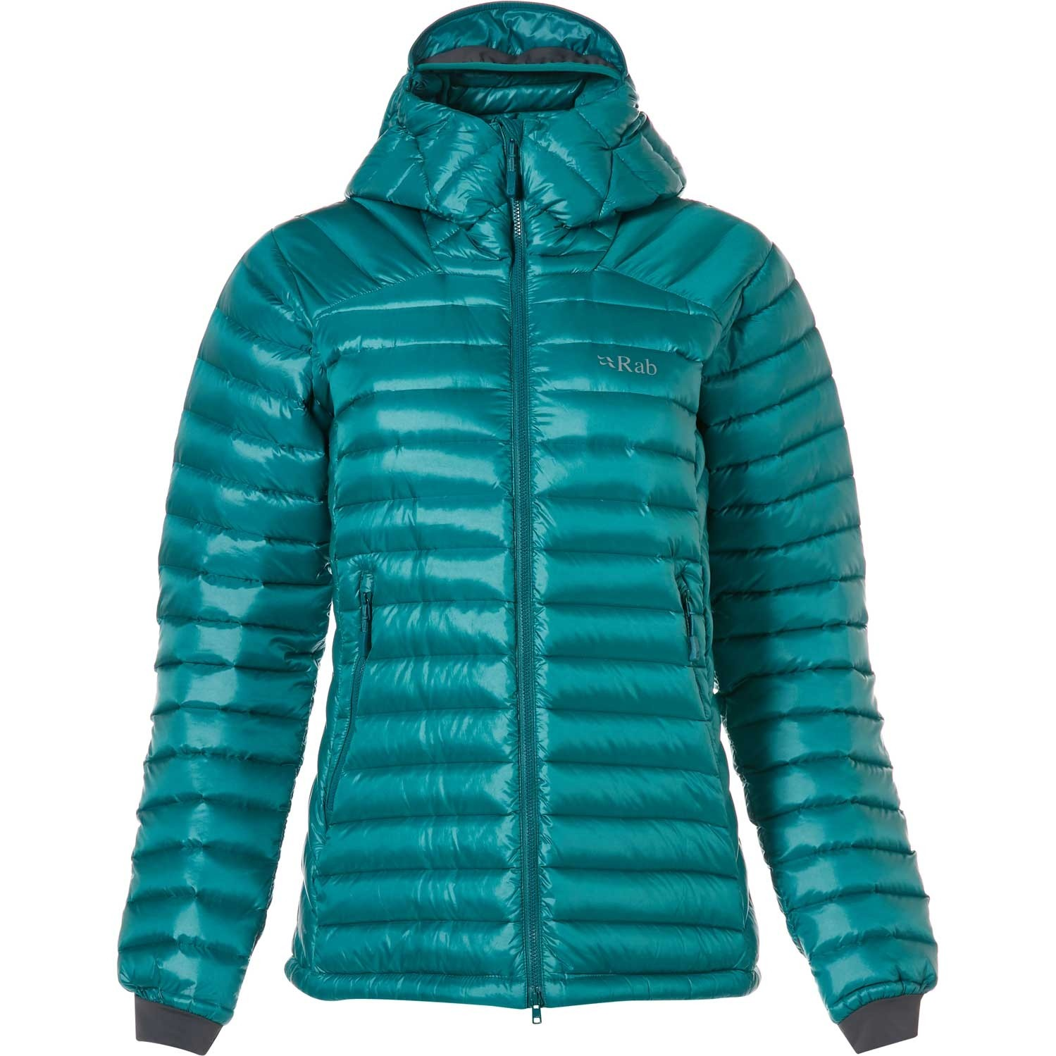 Rab Women's Microlight Summit Down Jacket - Atlantis