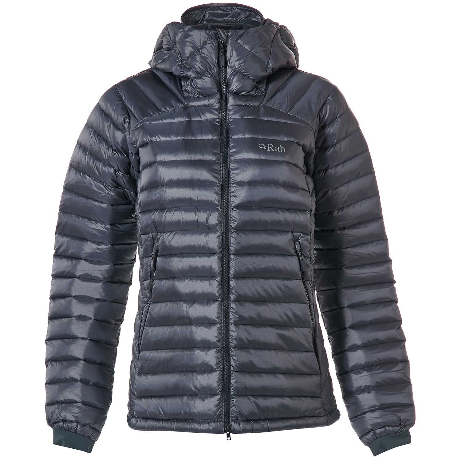 Rab Women's Microlight Summit Down Jacket - Steel