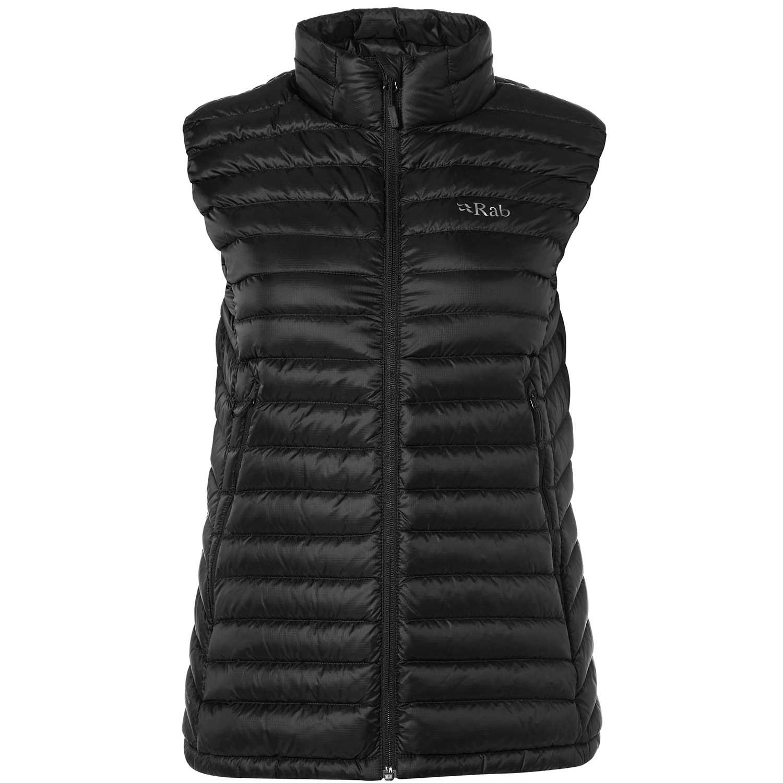 Rab Microlight Vest - Women's - Black/Seaglass