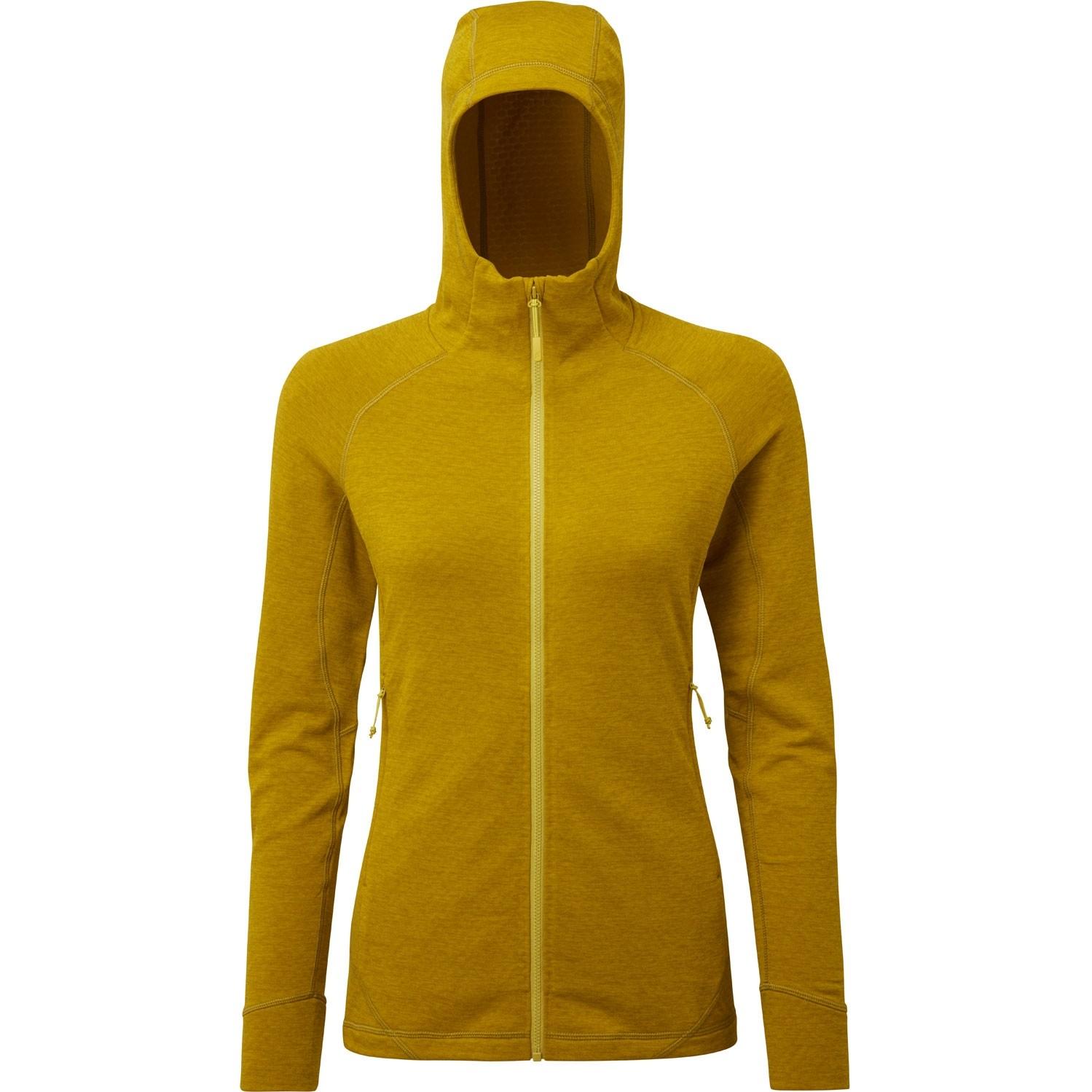 Rab Nexus Hooded Fleece Women's Jacket - Sulphur