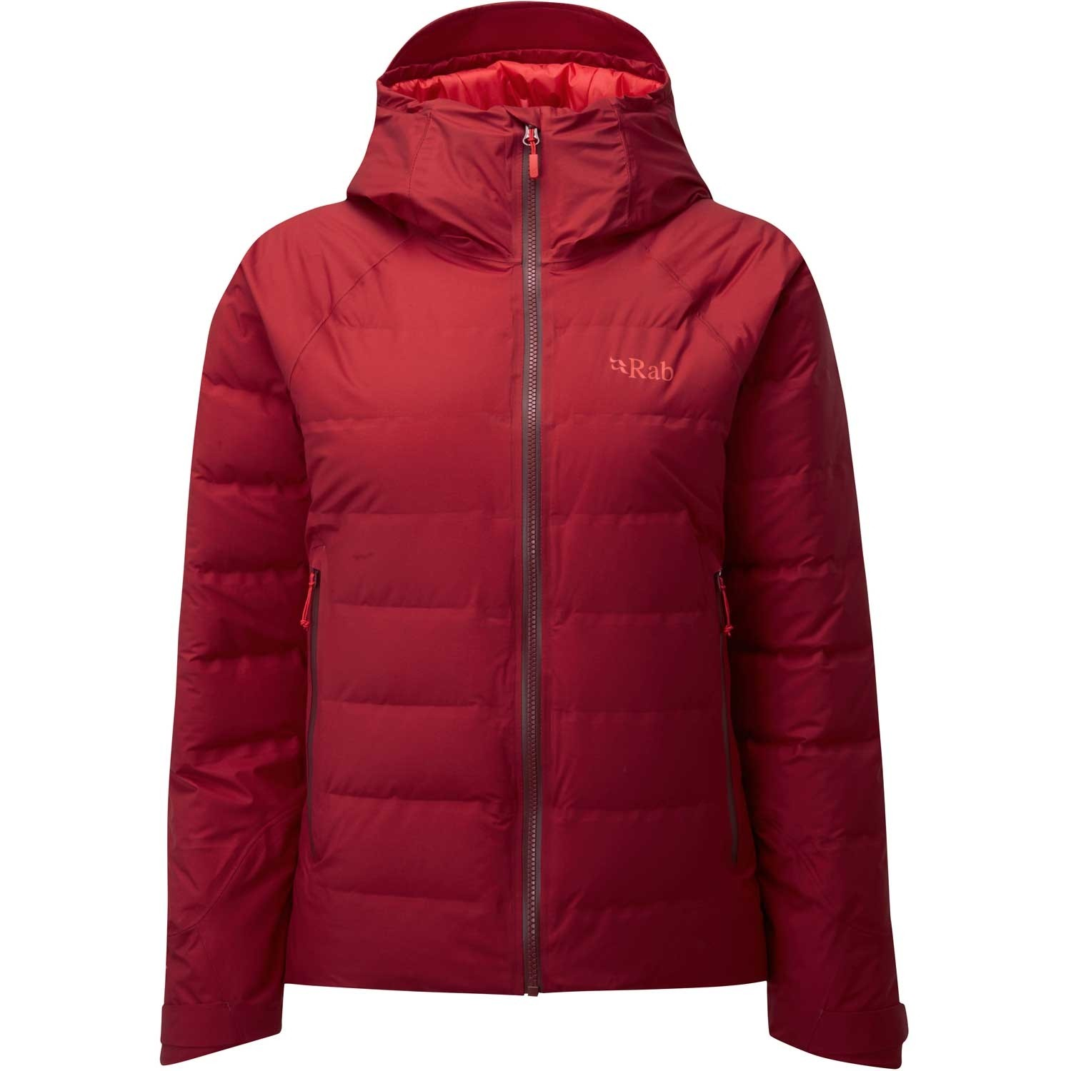 Rab Valiance Women's Down Jacket - Crimson