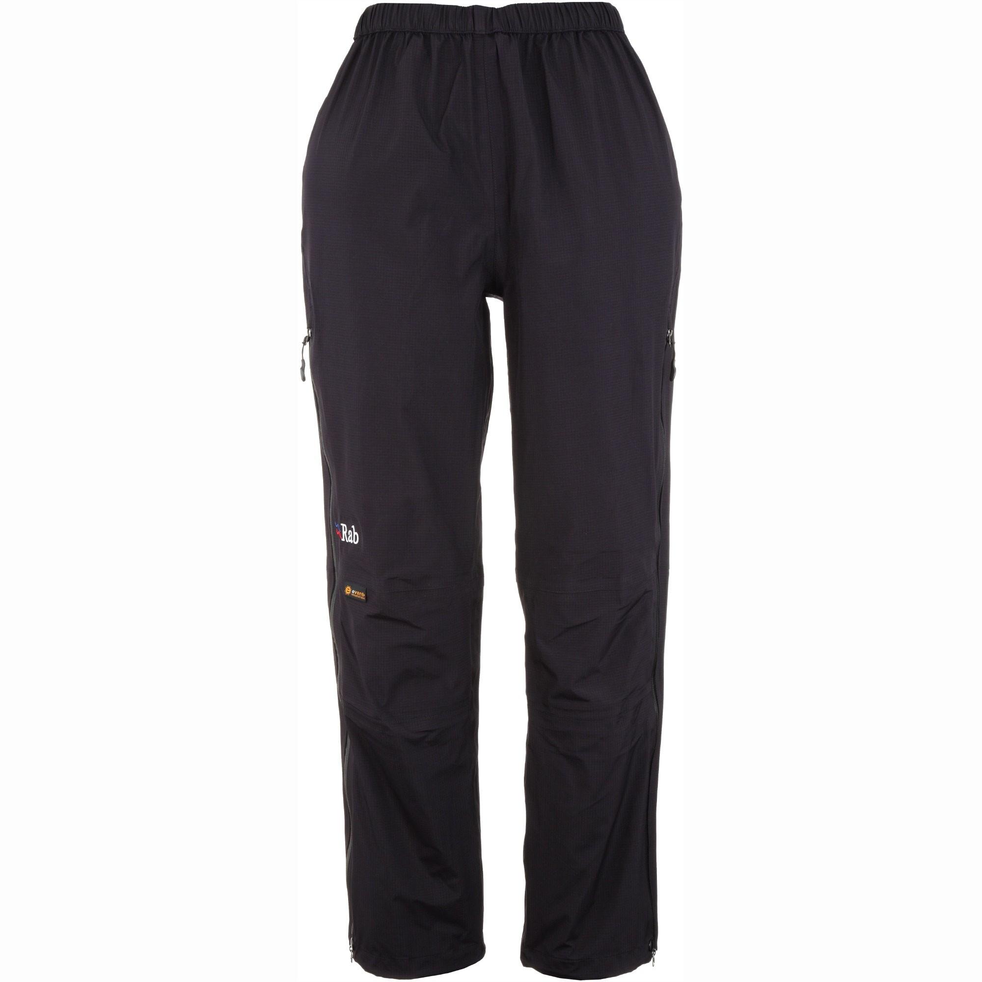Rab Vidda Women's Waterproof Over-Trousers - Black