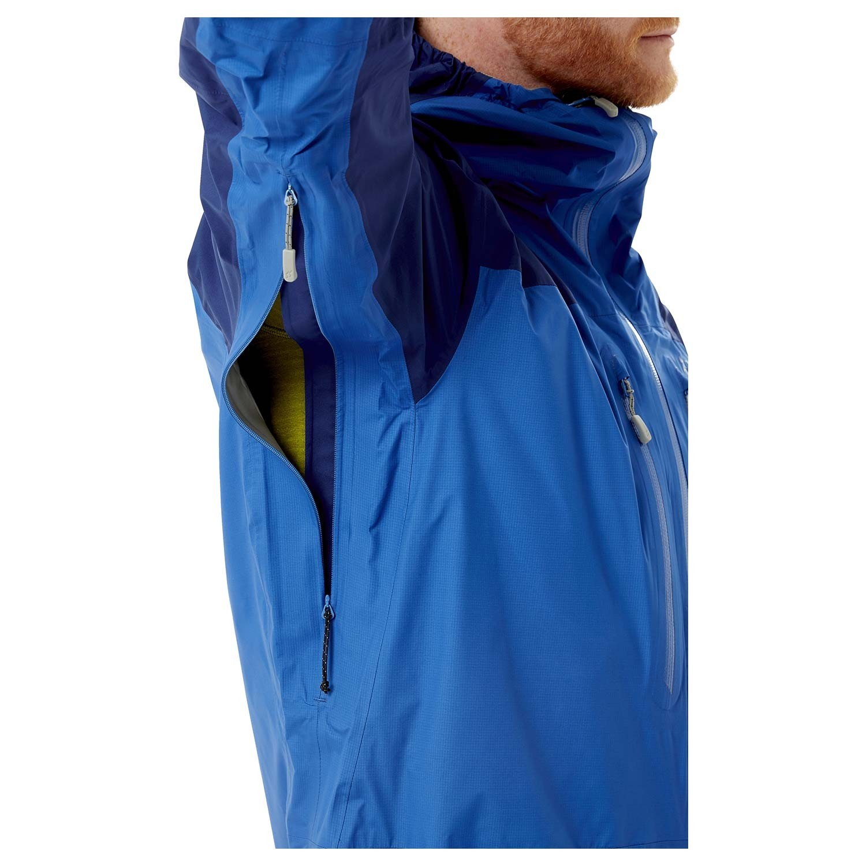 Rab Zenith Jacket - Men's Waterproof - Nightfall Blue