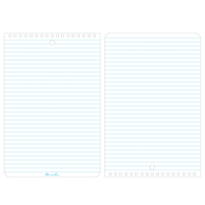 Top-Spiral Notebook No.169 - pages