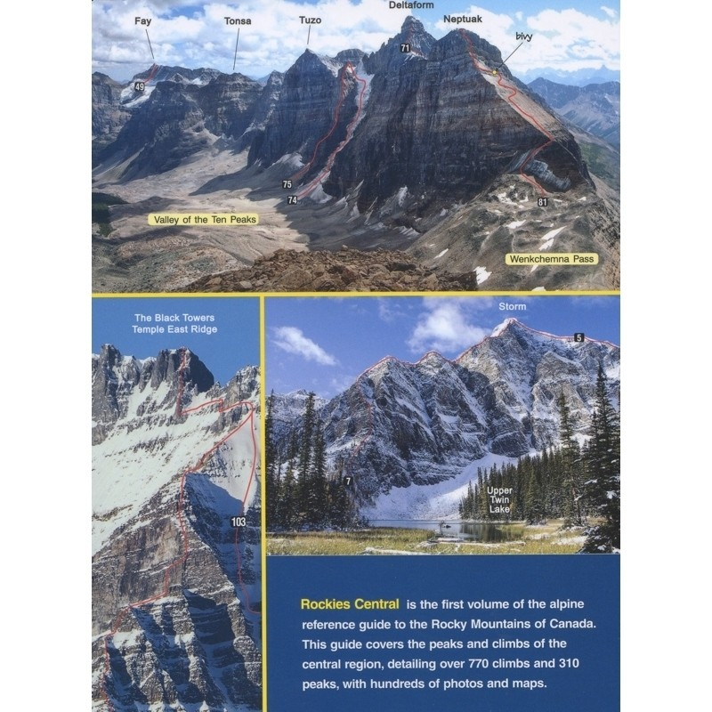 Rockies Central Volume Two:The Climbers Guide to the Rocky Mountains of Canada by High Col Press