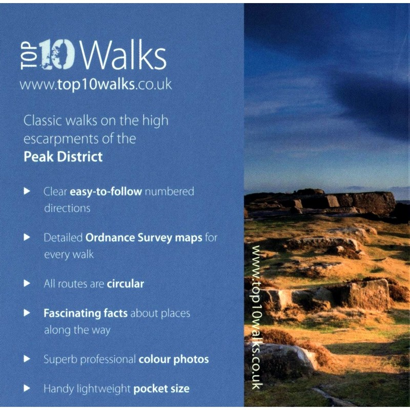 Rocks & Edges: Classic walks on the high escarpments of the Peak District: Top 10 Walks by Northern Eye