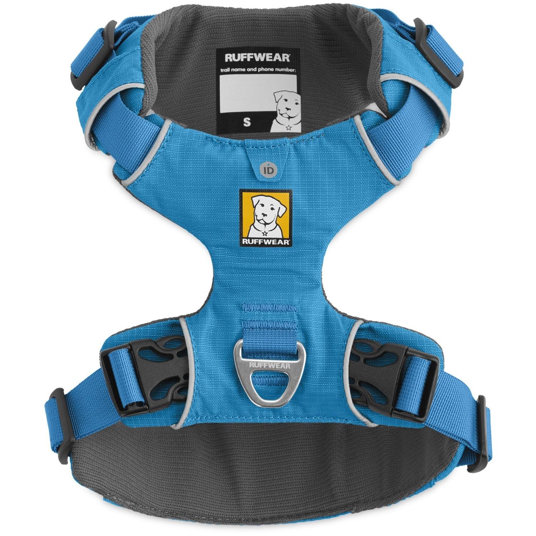 Ruffwear Front Range Dog Harness - Blue Dusk - top