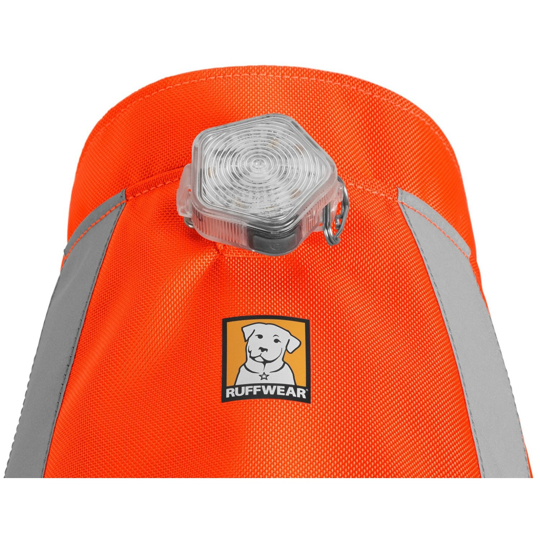 Ruffwear Track Jacket - Blaze Orange with Beacon