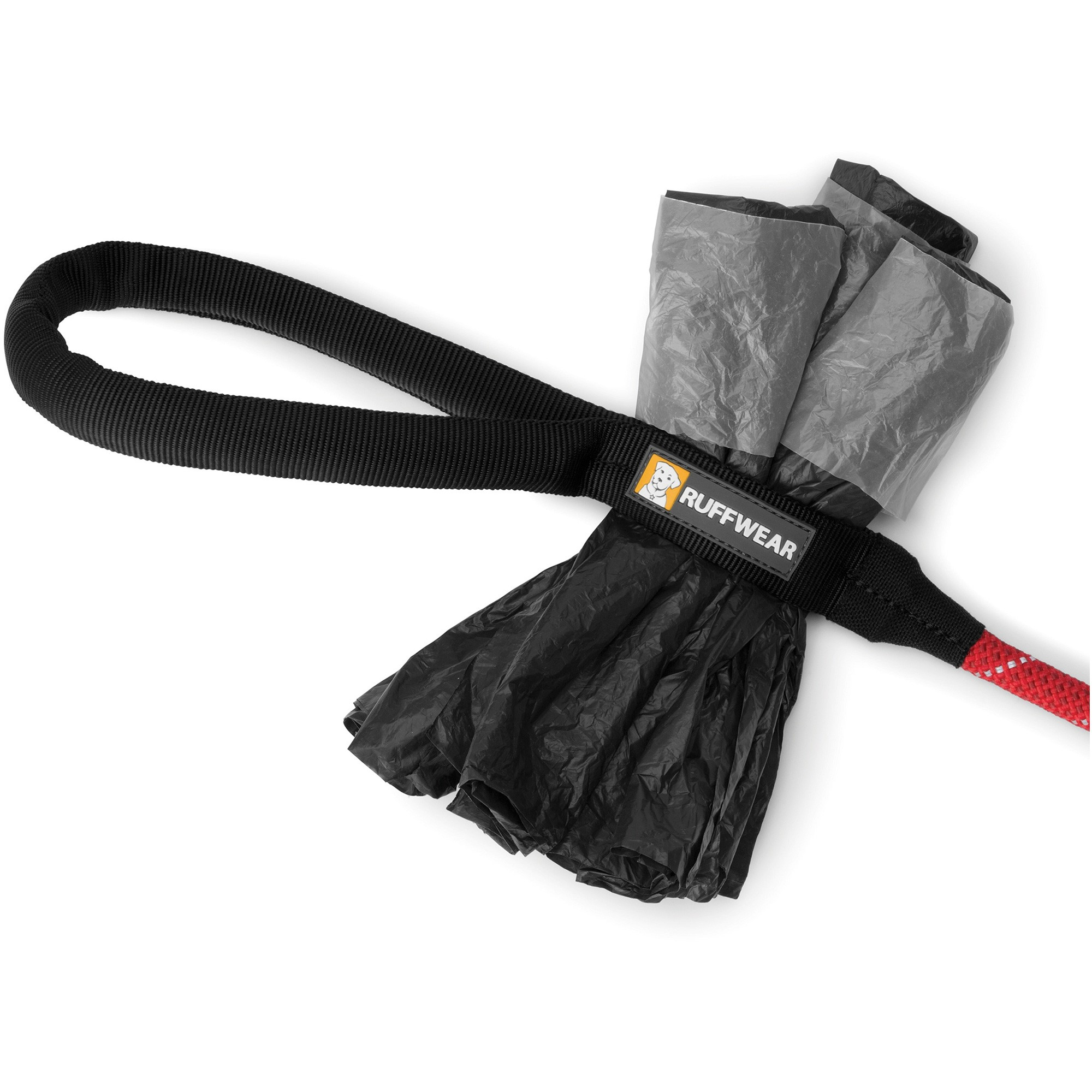 Ruffwear Knot-a-Long Leash - Red Currant - accessory loop