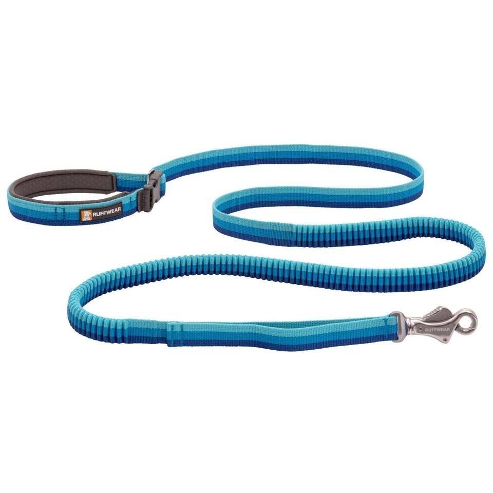 Ruffwear Roamer Bungee Dog Leash - Blue Atoll