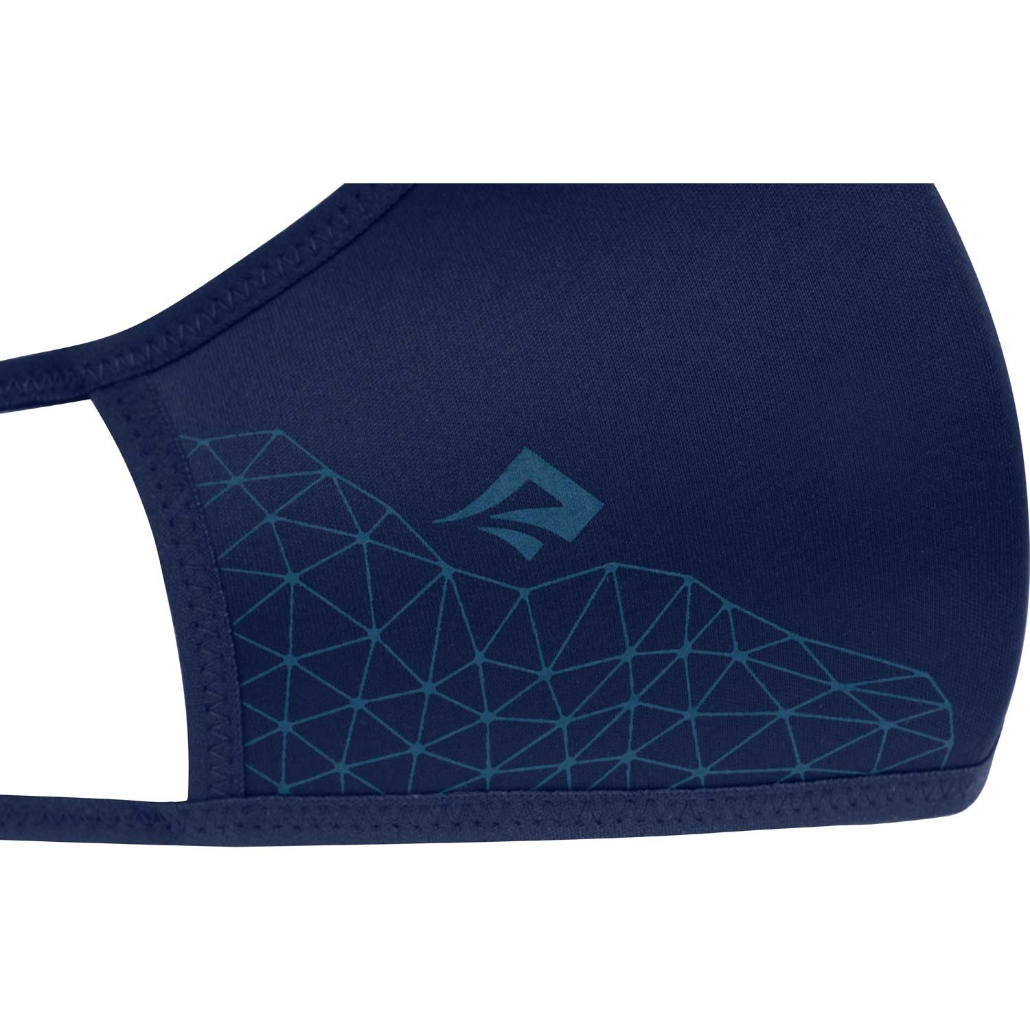 Sea to Summit Treated Barrier Face Mask - Ocean Blue