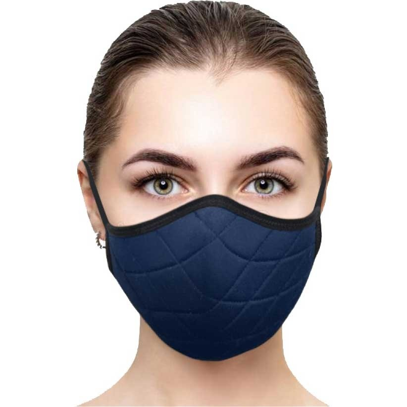 Sea to Summit Deco Face Mask - Ocean Cavern Blue