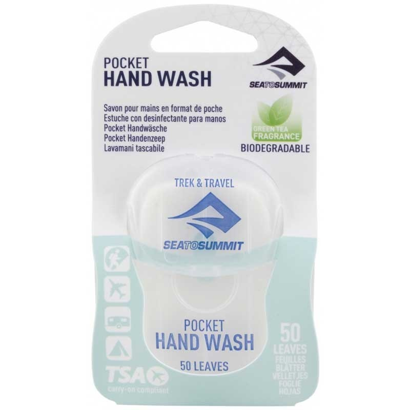 Sea To Summit Trek & Travel Pocket Hand Wash 50 Leaf